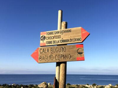 Sentieri della Riserva di Monte Cofano